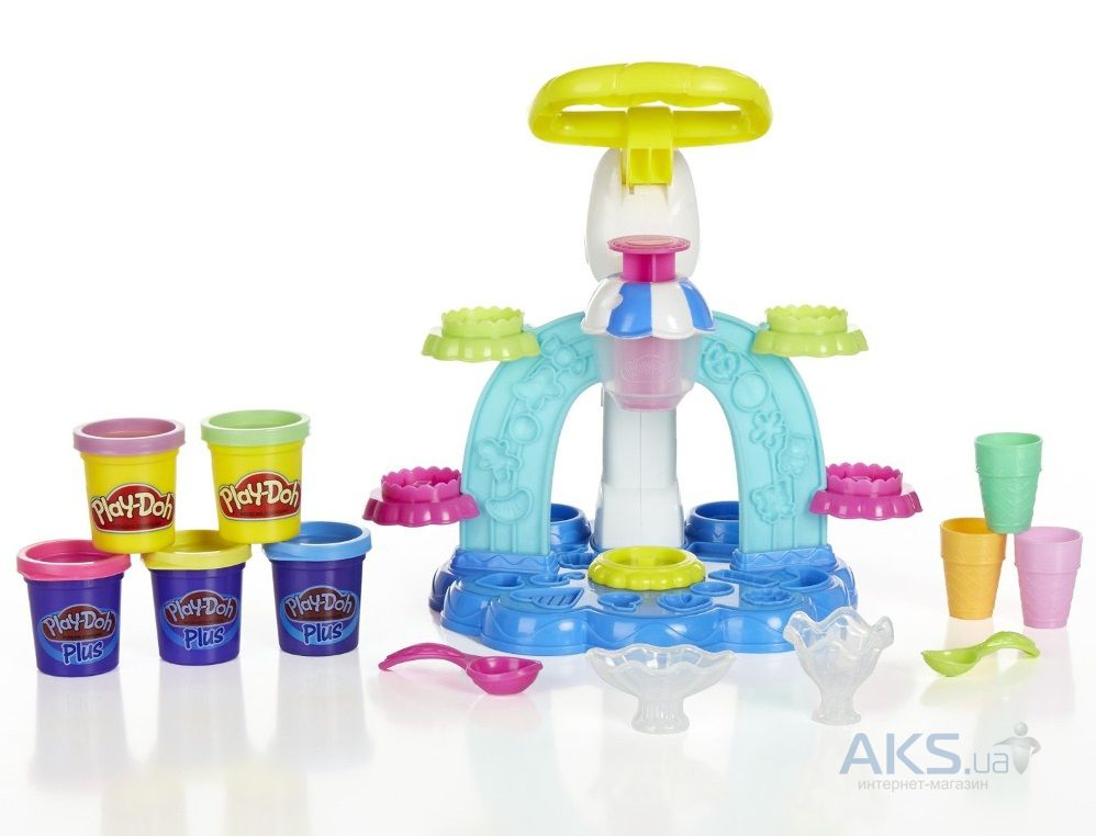 Игра Hasbro Play-Doh Фабрика Мороженого (B0306)