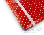Вид 6 - Чехол для планшета Tuff-Luv Slim-Stand Leather Case Cover for iPad 2,3,4 Red: Polka-Hot (B10_35)