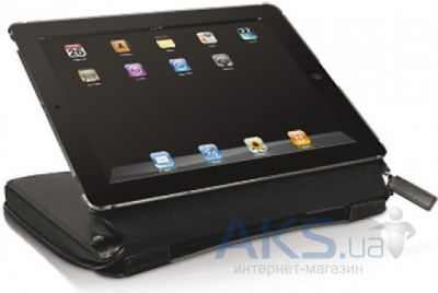 Чехол для планшета Macally Premium Protective Case/Stand/Organizer for iPad 2/3/4 Black (BOOKSTANDPRO-3)