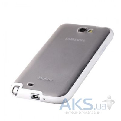 Чехол Yoobao 2 in 1 Protect case for Samsung N7100 Galaxy Note II White (PCSAMN7100-WT)