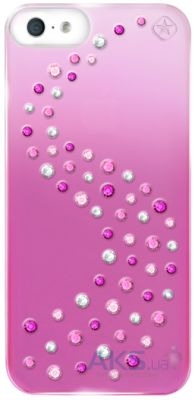 Чехол Bling My Thing Metallic Mirror Milky Way Love Mix Apple iPhone 5, iPhone 5S, iPhone SE Pink (BMT-22-16-02-42)
