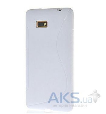 Чехол Celebrity TPU cover case HTC Desire 600 White