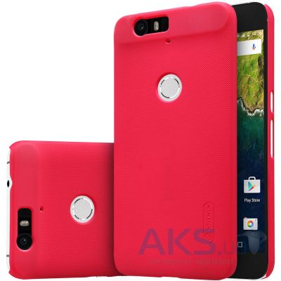 Чехол Nillkin Super Frosted Shield Huawei Nexus 6P Red