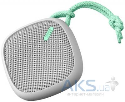 Колонки акустические Nude Audio Portable Bluetooth Speaker Move M Light Grey/Mint (PS003MTG)