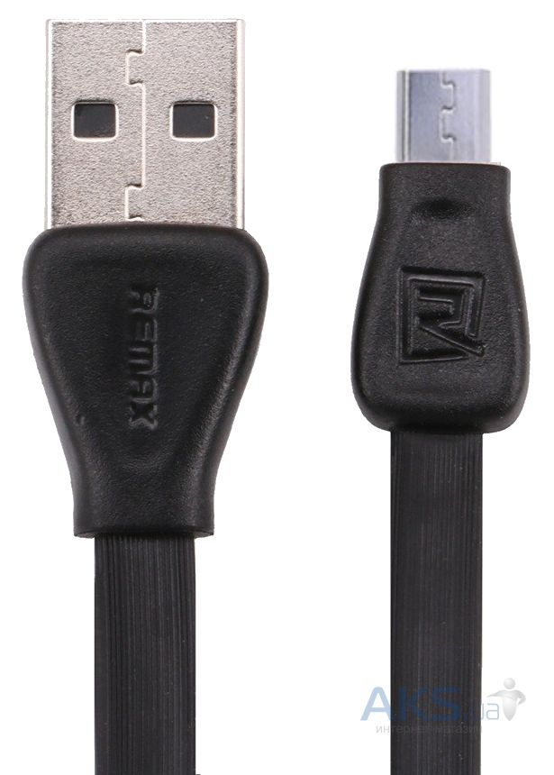 Кабель USB Remax Martin micro USB Black (RC-028m)