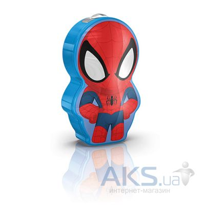 Фонарик Philips Spider-Men, 1 set (71767/40/16) blue
