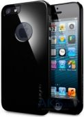 Чехол SGP Case Ultra Thin A Series Apple iPhone 5, iPhone 5S, iPhone SE Soul Black (SGP09578)