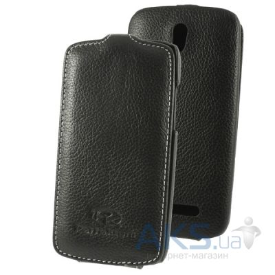 Чехол Perfektum Leather Flip series HTC Desire 500 Black