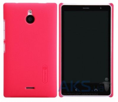 Чехол Nillkin Super Frosted Shield Nokia X2 Red