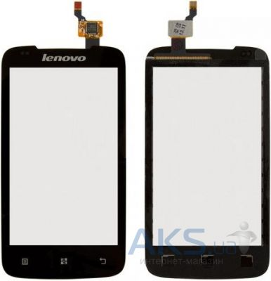 Сенсор (тачскрин) для Lenovo A356 Original Black