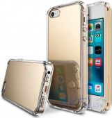 Чехол Ringke Fusion Mirror Apple iPhone 5, iPhone 5s, iPhone SE Royal Gold (824574)