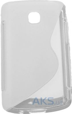 Чехол Original TPU Duotone LG Optimus L1 II E410 Transparent
