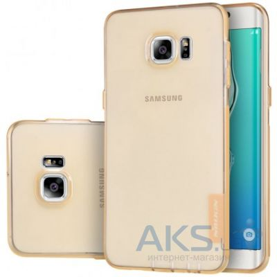 Чехол Nillkin Nature Series Samsung G928 Galaxy S6 Edge Plus Gold