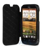 Вид 4 - Чехол Melkco Book leather case for HTC Desire V/Desire X Black (O2DESVLCFB2BKLC)