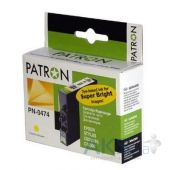 Картридж Patron Epson StC63/65, CX3500 yellow (CI-EPS-T04744A-Y-PN) Black