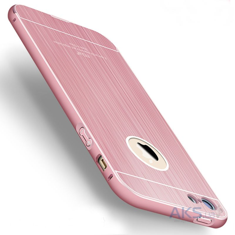Чехол MSVII Metal Series Apple iPhone 5, iPhone 5S, iPhone SE Pink