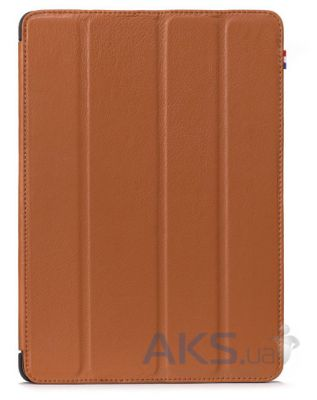 Чехол для планшета Decoded Leather Slim Cover for iPad Air 2 Brown (D3IPA6SC1BN)
