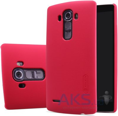 Чехол Nillkin Super Frosted Shield LG Optimus G4 H818 Red