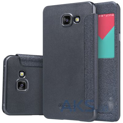 Чехол Nillkin Sparkle Leather Series Samsung A510 Galaxy A5 2016 Black
