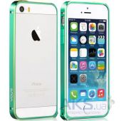 Чехол Vouni Buckle Color Match Apple iPhone 5, iPhone 5S, iPhone 5SE Green/Yellow