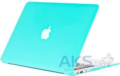 Чехол Kuzy Rubberized Plastic Case for MacBook Air 11 Teal