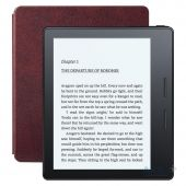 Электронная книга Amazon Kindle Oasis with Leather Charging Cover Red