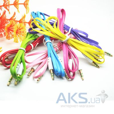Аудиокабель Fold AUX audio cable noodle big