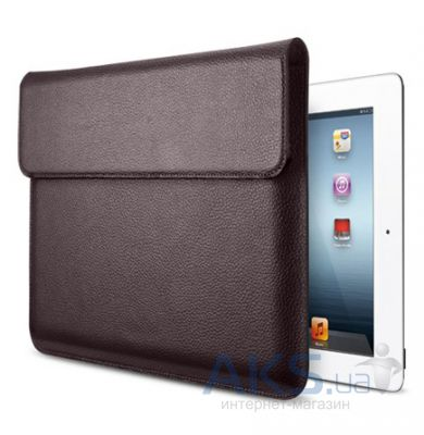 Чехол для планшета SGP Leather Case Sleeve Series Dark Brown for iPad Air (SGP08851)