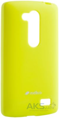 Чехол Melkco Poly Jacket TPU LG Optimus L Fino D295 Yellow
