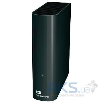 Жесткий диск внешний Western Digital 3TB 3.5 USB 3.0 Elements Desktop (WDBWLG0030HBK-EESN)