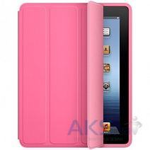 Чехол для планшета Apple iPad Smart Case Polyurethane for iPad 2 / iPad 3 / iPad 4 Pink (MD456)