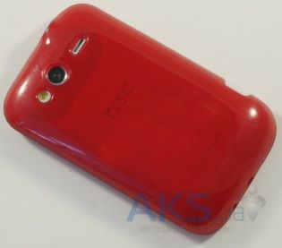 Чехол Original TPU Case HTC Wildfire S A510e Red