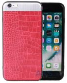 Чехол Totu Leather Case Apple iPhone 7 Matte Red