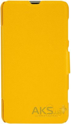 Чехол Nillkin Fresh Leather Series Nokia Lumia 625 Yellow