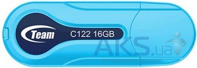 Флешка Team 16Gb C122 USB 2.0 (TC12216GL01) Blue