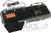 Вид 2 - Клавиатура A4Tech B418 Bloody Black/Sliver