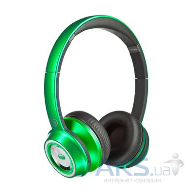 Наушники (гарнитура) Monster NCredible NTune On-Ear Headphones Matte Green (MNS-128523-00)