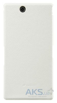 Чехол Melkco Snap leather cover for Sony Xperia Z Ultra C6802 White (SEXPZULOLT1WELC)