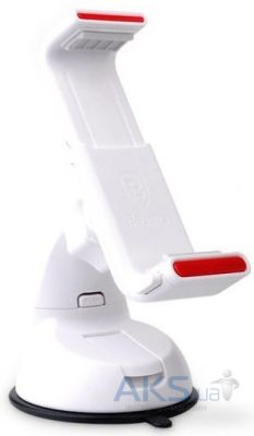 Держатель Baseus Super Car Mount for iPhone 6/6+ White / Red (SUGENT-UP02)