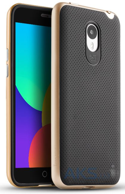 Чехол iPaky Hybrid Series Meizu M1 Note Gold