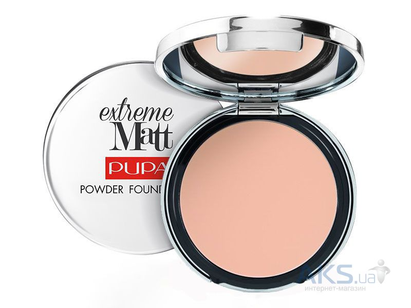 Пудра Pupa Extreme Matt Powder Foundation №001 - Ivory