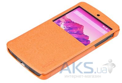 Чехол Rock Excel Series LG Google Nexus 5 D820 Orange
