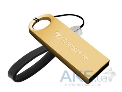 Флешка Transcend JetFlash 520 8GB Gold