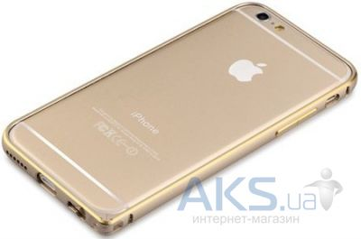 Чехол Comma Aluminum Bumper for iPhone 6/6S Champagne Gold