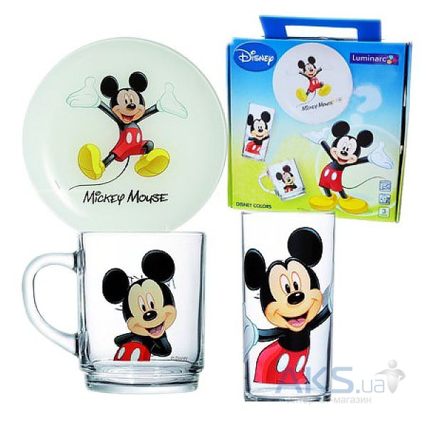 Luminarc DISNEY MICKEY COLORS 3 пр. L2124
