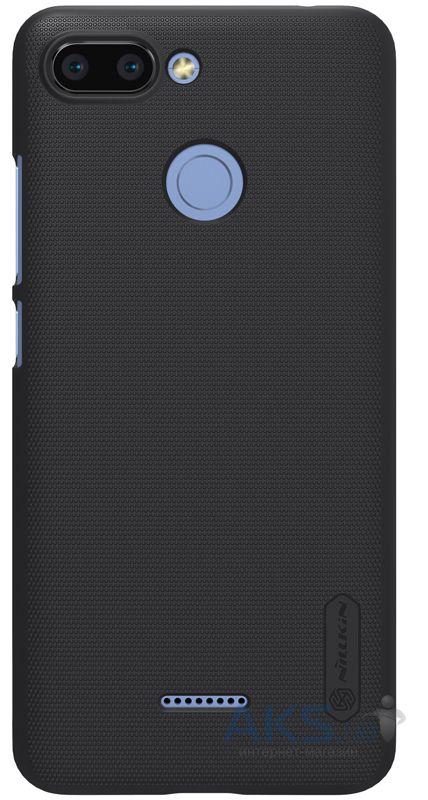 Чехол Nillkin Super Frosted Shield Xiaomi Redmi 6 Black