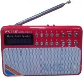 Радиоприемник WSTer WS-810 Red