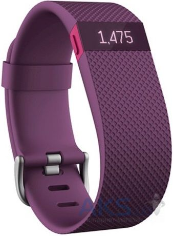 Спортивный браслет Fitbit Charge HR Large Plum (FBHRPLL)