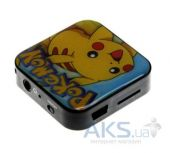 Mp3-плеер Slim МР3 mini heroes SD Pokemon High Yellow