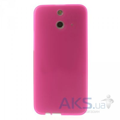 Чехол Original TPU Case HTC One E8 Dual sim Pink
